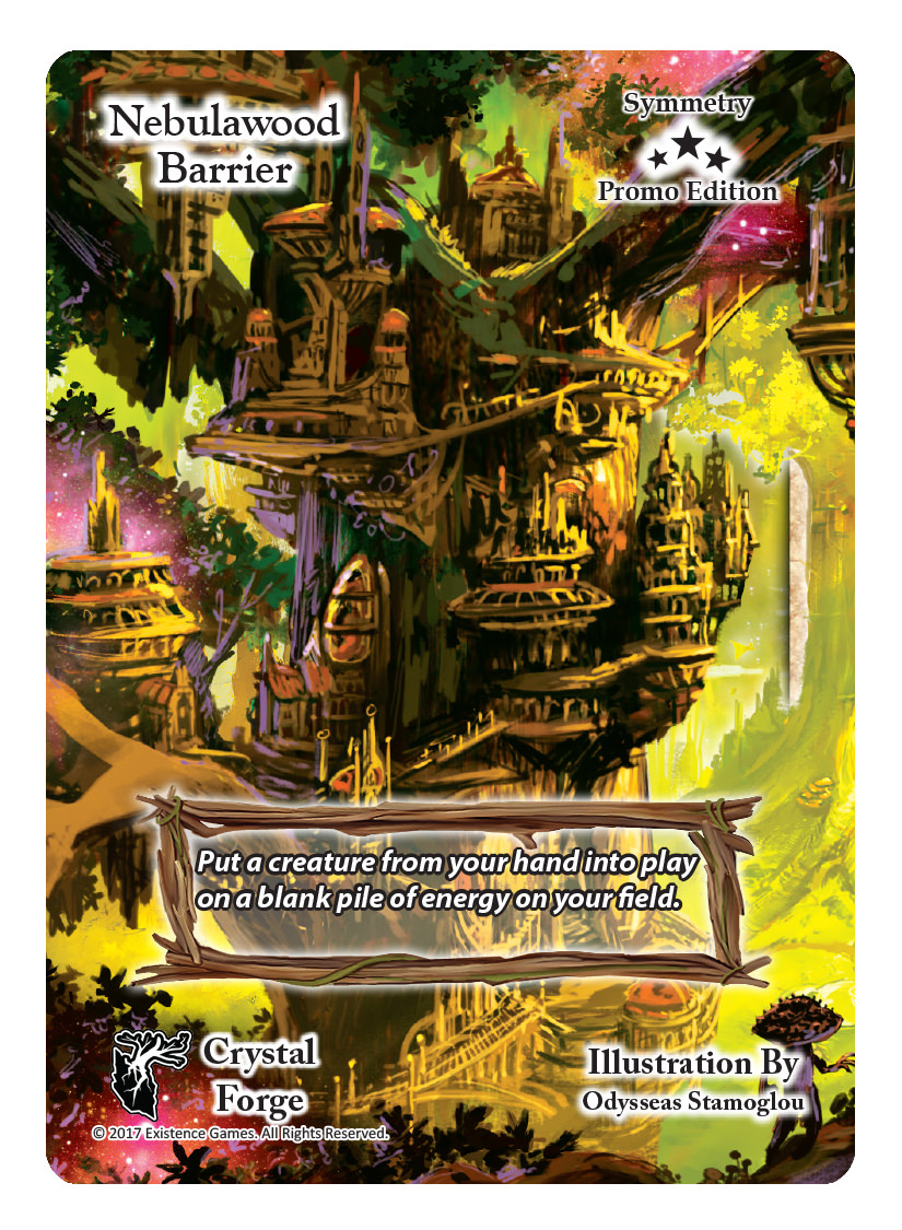 Nebulawood Barrier Promo
