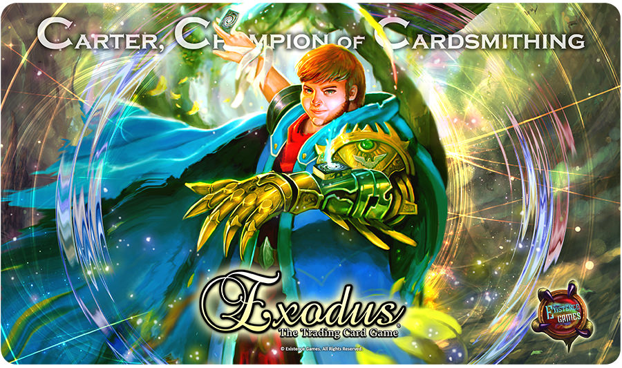 Exodus Carter Playmat