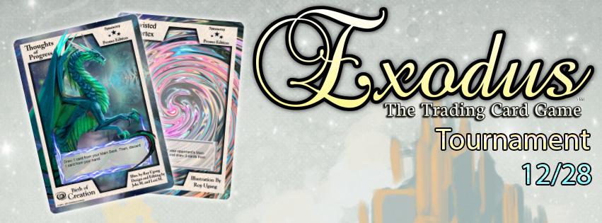 Exodus News, Issue #002 -- Tournament Dec 28th!