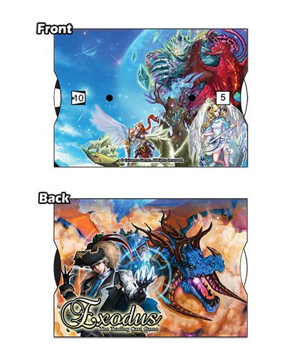 The Exodus TCG Life Counter helps you to keep score while playing the game. $4.99.